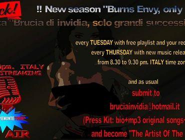 L'Artista del Giorno su Radio Piemonte Torino