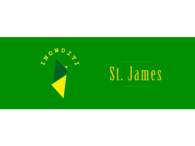 St. James -Copertina